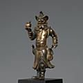 Représentation d'un étranger, chine, ca 17° siècle
