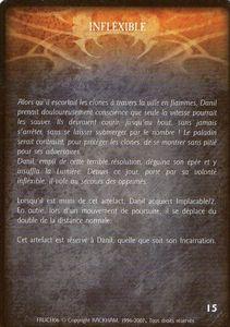 Danil le preux - Inflexible (artefact)