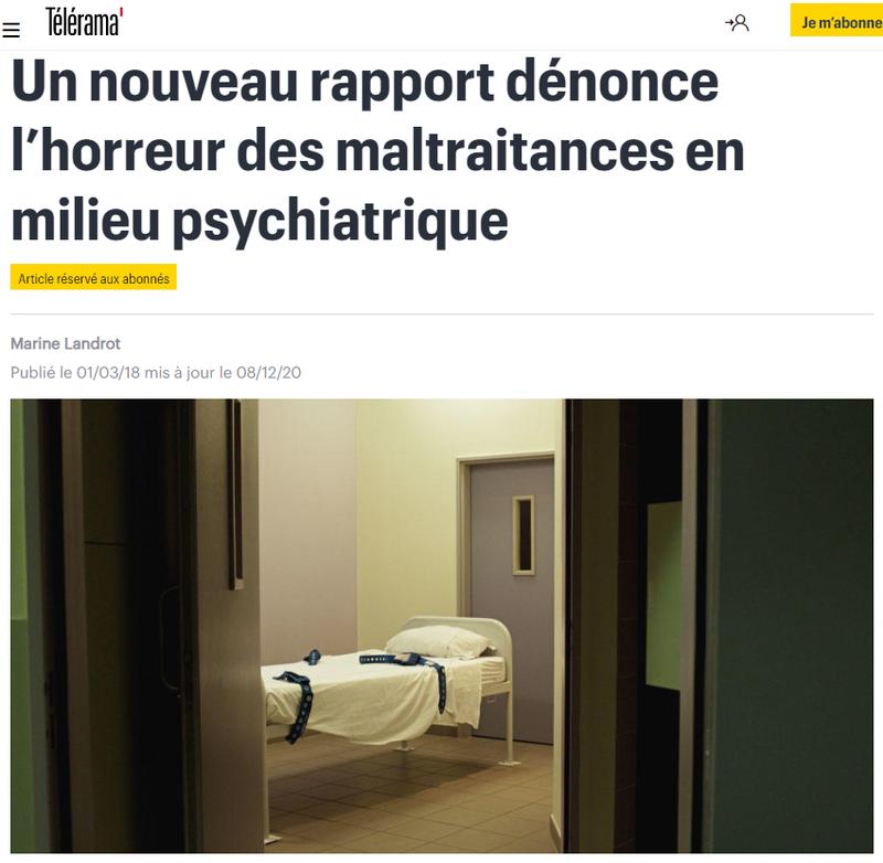 2021-04-02 15_41_39-Un nouveau rapport dénonce l'horreur des maltraitances en milieu psychiatrique -