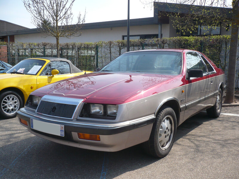 CHRYSLER LeBaron Turbo coupé Châtenois (1)