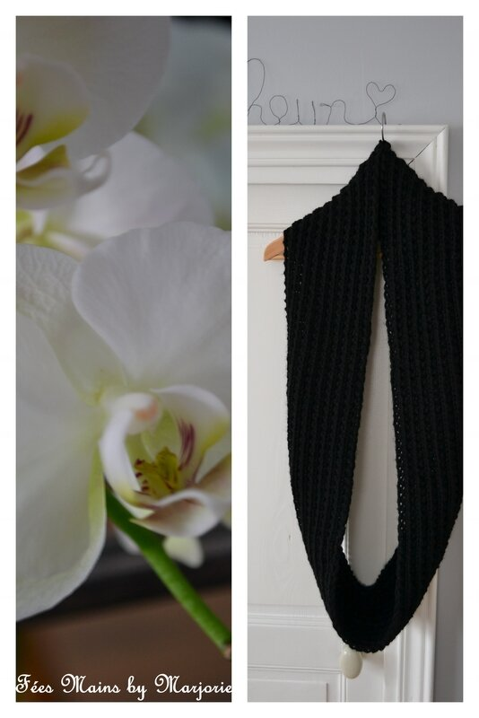 Snood double tricot2