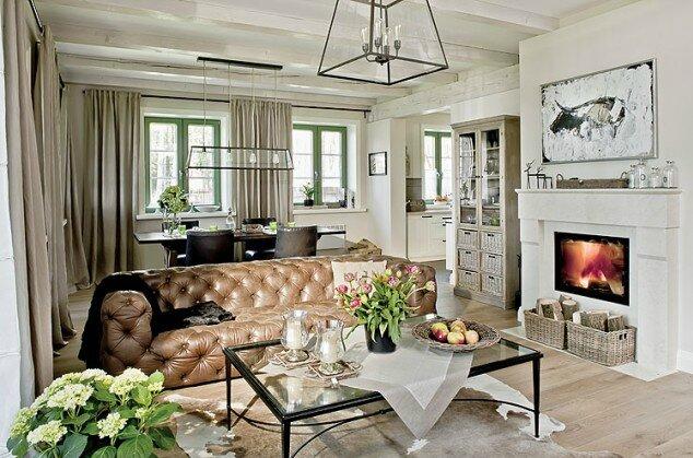 ambiance chic dans une maison de campagne sonia saelens d co. Black Bedroom Furniture Sets. Home Design Ideas