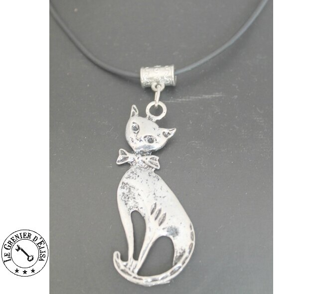 COLLIER CHAT XXL