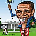 caricature Barak Obama JPEG