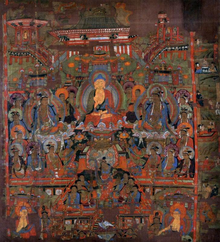 National Museum, Delhi Paradise Of Bhaisajyaguru (7th Century - 8th Century)Details Unknown ()
