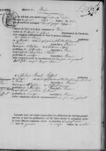 Acte mariage Chalencon Laffont -1-1882
