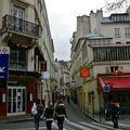 Vue sur la rue Hautefeuille.