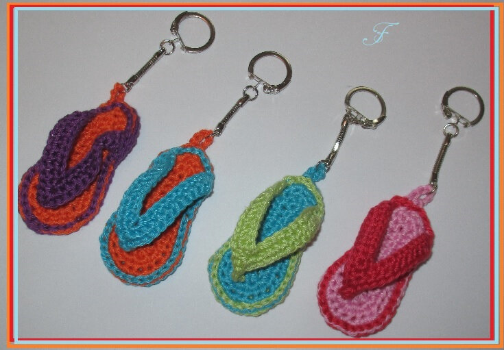 tongs crochet