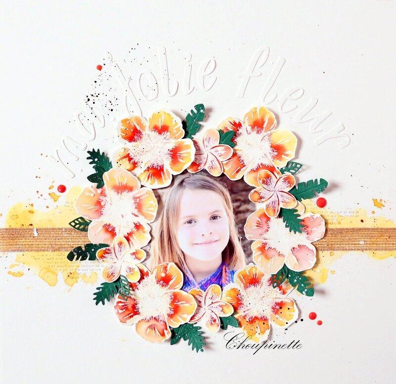 Page Ma jolie fleur 1 bis