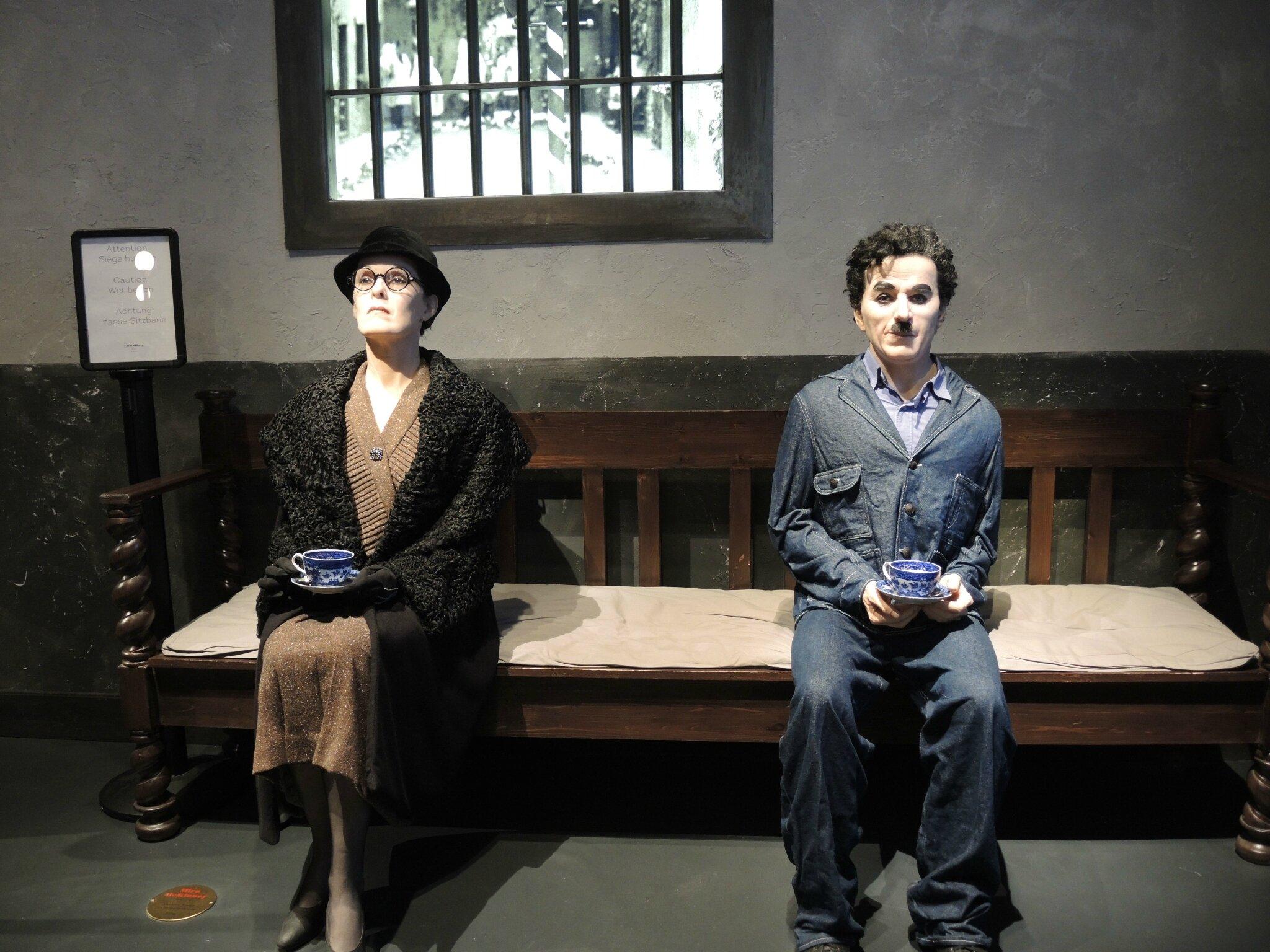 Corsier-sur-Vevey, Chaplin's world, le Studio, les temps modernes avec Mira McKinney (Suisse)