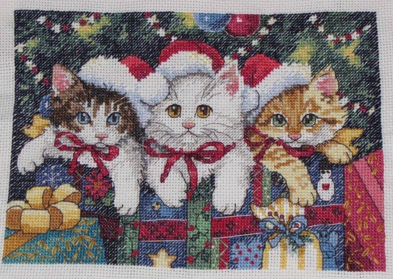 chats Noël