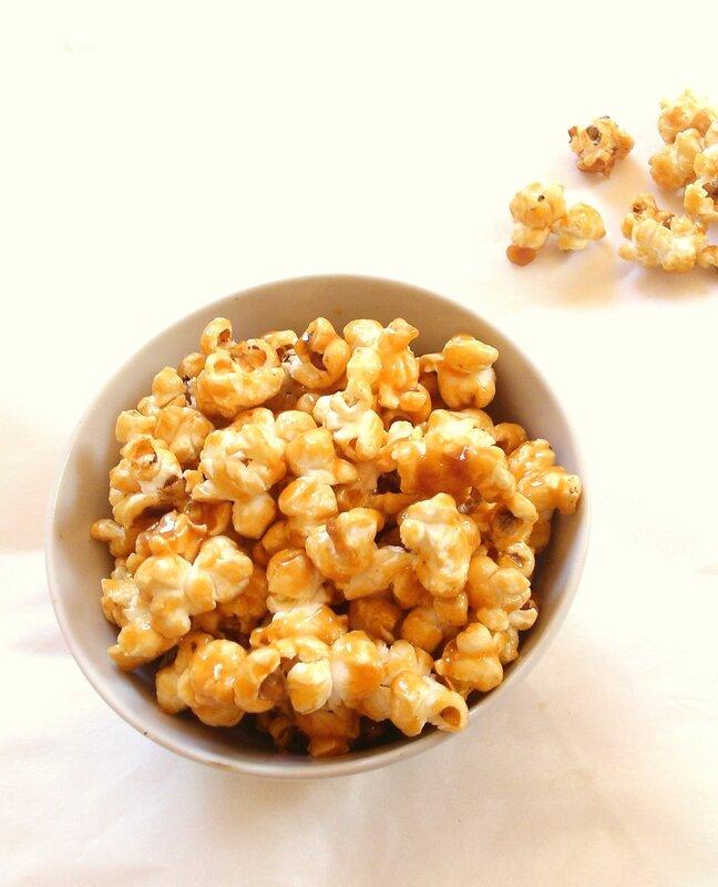 pop corn maison au caramel beurre salé 2