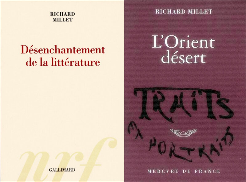 Richard Millet - Désenchantement de la littérature-side