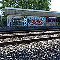 Lescar (Pyrénées-Atlantiques - 64) BV côté voies