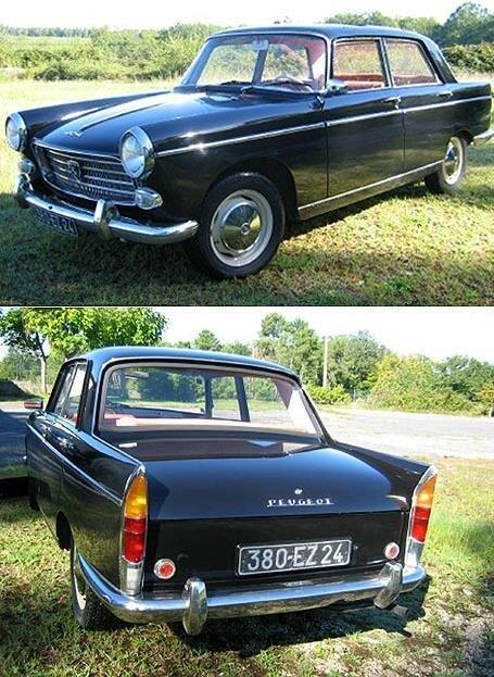 PEUGEOT - 404 berline - 1961