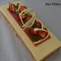 Le rouge-fraise