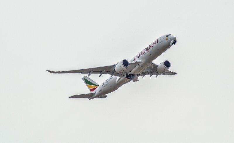 Airbus A350 d'Ethiopian Airlines