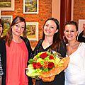 Clémence Caruana - Invitée d'honneur Expo collective VERFEIL Avril 2015