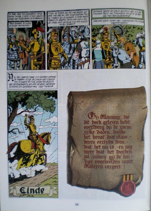 De leeuw van Vlanderen (De dageraad 1984) pl.66