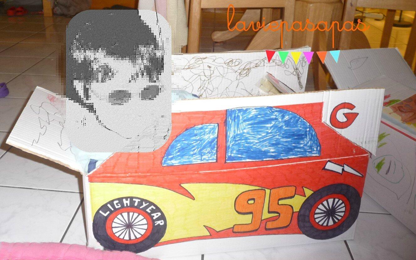 { Projet carton : inspiration Cars }