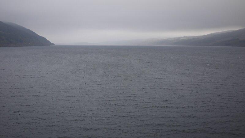 Le Loch Ness, brumeux à souhait
