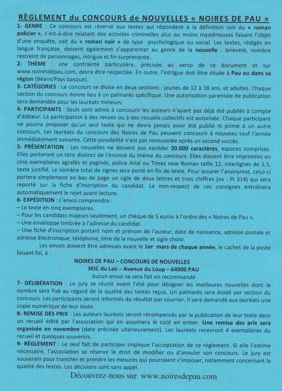 flyers verso bleu