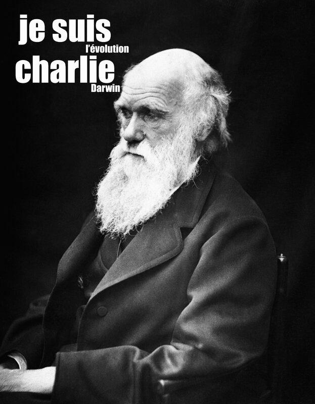 je suis Charlie Darwin