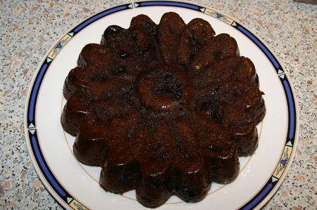 gateau chocolat myrtilles