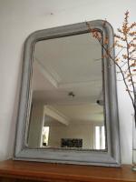 miroir perlé