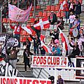 [photos tribunes] nancy - evian, saison 2012/13