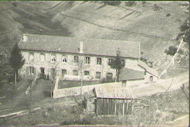 Le moulinage de soie dans les années 30
