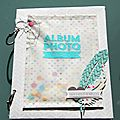Mini album esprit scrap