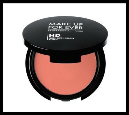 make up for ever hd peachy pink