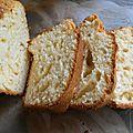 Cake aux jaunes d'oeufs et au fromage blanc