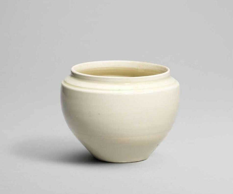 A small Ding globular jar, Northern Song dynasty (960-1127)