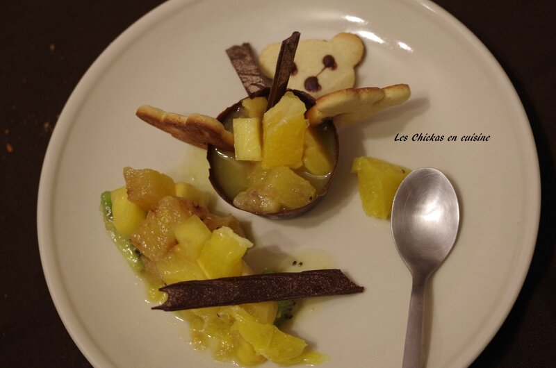 Salade de fruits-coques chocolat-biscuits (3)