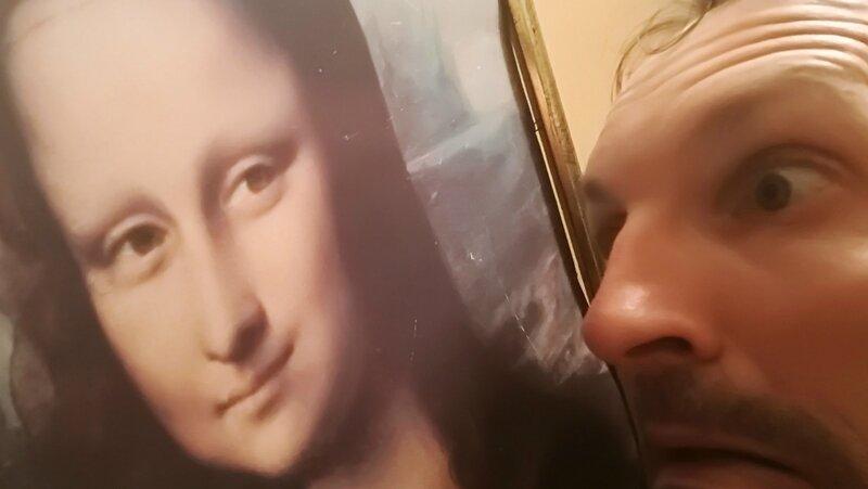 Chez Céline et Michael, les yeux dans la Joconde