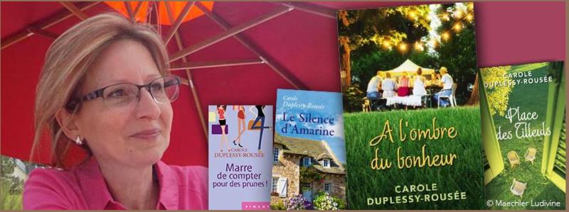 CAROLE DUPLESSY-ROUSEE - SITE OFFICIEL DE L'AUTEURE