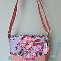 sac bandoulière fleurs des iles 2