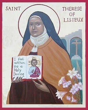 Icône de Sainte Thérèse
