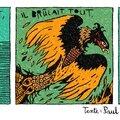 Poésie / texte: paul poule / dessin: vincent lefèbvre