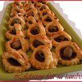 Petits paniers aux olives