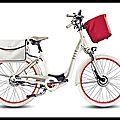 Elle by matra - vélo version boîte automatique - vélo version système électrique - matra