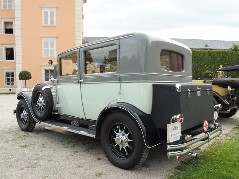 STOEWER S10 berline 1928 Schwetzingen (2)