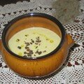 VELOUTE DE TOPINAMBOURG AU CURRY