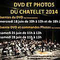 Reservations du dvd et des photos du spectacle du chatelet
