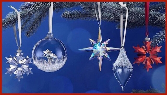 swarovski decoration sapin noel 1
