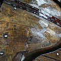 Morceaux de bois sous flotte