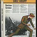 Rouletabille chez krupp, roman d'espionnage de gaston leroux