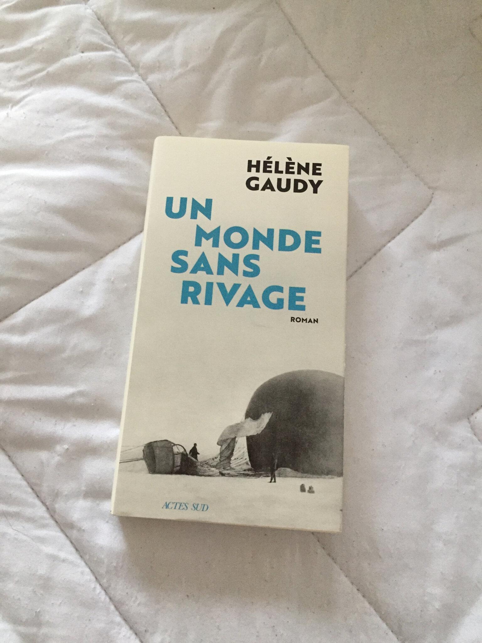 « Un monde sans rivage » de Hélène Gaudy